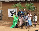 Explore Volunteers in Ivohibe playing theater in villages to raise awareness for forest conservation
