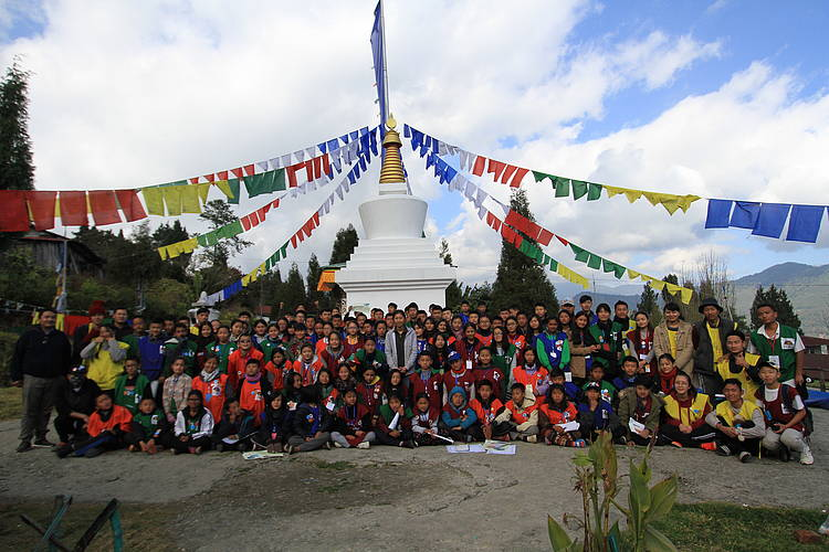 WWF Bhutan announces the Bend the Curve Challenge at Camp RUF