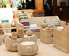 Rattan products were displayed to public at the ceremony to close rattan project phase III organised in Phnom Penh.