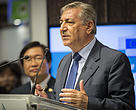 EU Commissioner Karmenu Vella at Seafood Expo 2015