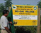 Inauguration of a biogas village at Badrahani, Chitwan