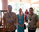 Dr. Ir. Gellwynn Daniel Hamzah Jusuf, M.Sc – Director General of Capture Fisheries, Jackie Thomas - Leader WWF Coral Triangle Programme, and  Ir. Anang Noegroho, NSM,SCM,MEM – Director of Center of Analysis for International and Institutional Cooperation