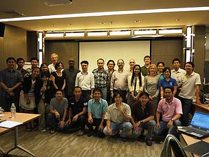 Participants in InVEST Introductory Seminar and Technical Workshop, Bangkok 2-6 April 2012