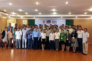 Participants of the InVEST Workshop organised in Mondulkiri Province - 30 / 31 July 2015