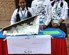 Jagriti School - Winners for the Most Innovative Piece in Inter-School Design Challenge organized by WWF Nepal on the occasion of International Snow Leopard Day.