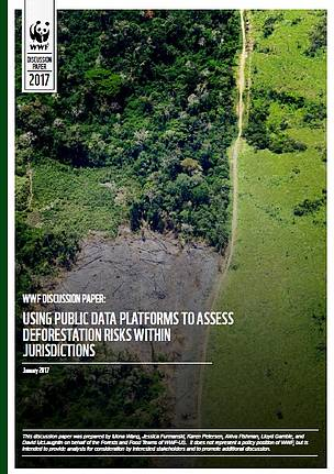 Using Public Data Platforms to Assess Deforestation Risks within Jurisdictions