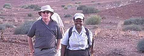 Rosalia Haraes, the first woman employed as a guide by Wilderness Safaris. Rosalia is a member of ... rel=