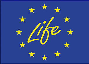 Official logo of Life programme of EU  	© EU