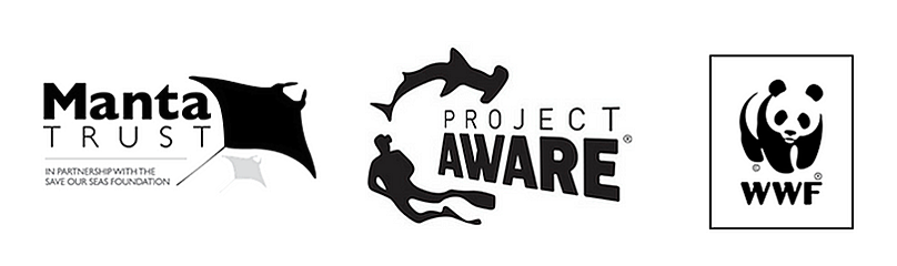 © 	WWF, Project AWARE and The Manta Trust