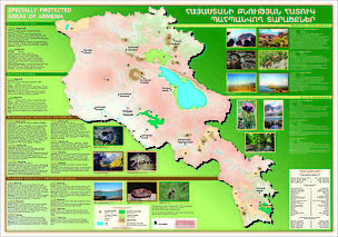 Map of PAs in Armenia
