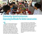 Community-based ecotourism: improving livelihoods for better conservation