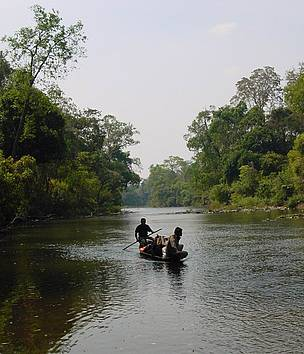 O Te stream in Phnom Prich Wildlife Sanctuary