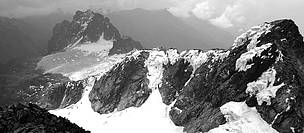 Glaciers on the slopes of Mount Stanley / ©: WWF
