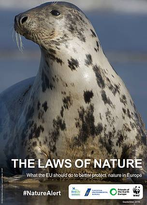The Laws of Nature are vital to protect our nature in Europe.