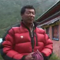 Climate Witness Norbu Sherpa on Al Jazeera.