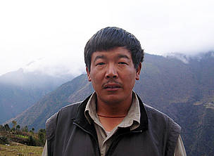 Norbu Sherpa, WWF Climate Witness from Nepal