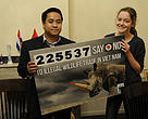Handover of the WWF petition calling on Vietnam to end illegal wildlife trade to Vietnam authorities