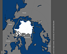 Arctic sea ice extent on September 13, 2017.