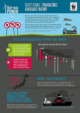 Infographic: OECD countries still massively support coal abraod