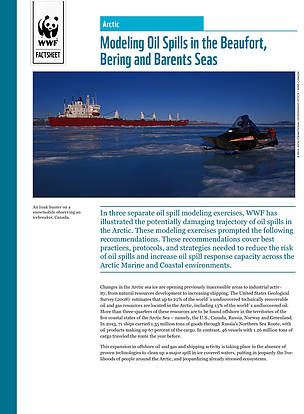 Modeling oil spills in the Beaufort, Bering and Barents Seas