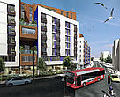 Brighton One Planet Living Community - Computer graphic of how the development will look.