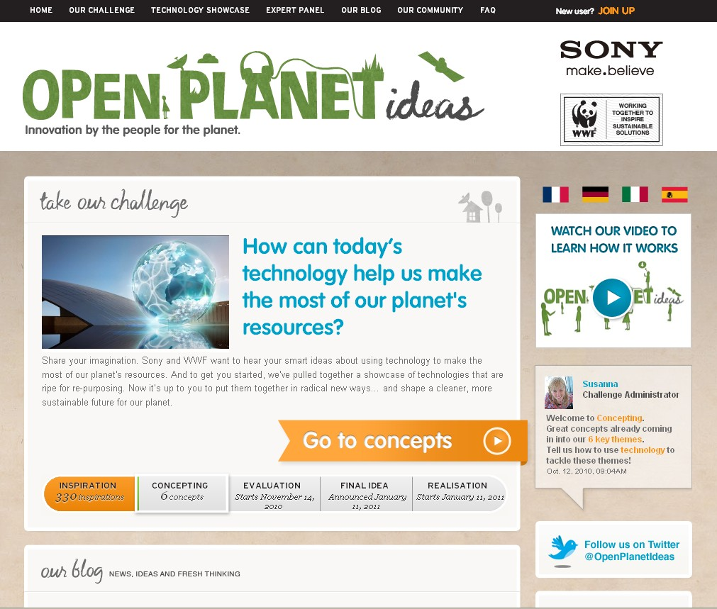sony with wwf support invites you to tackle environmental challenges