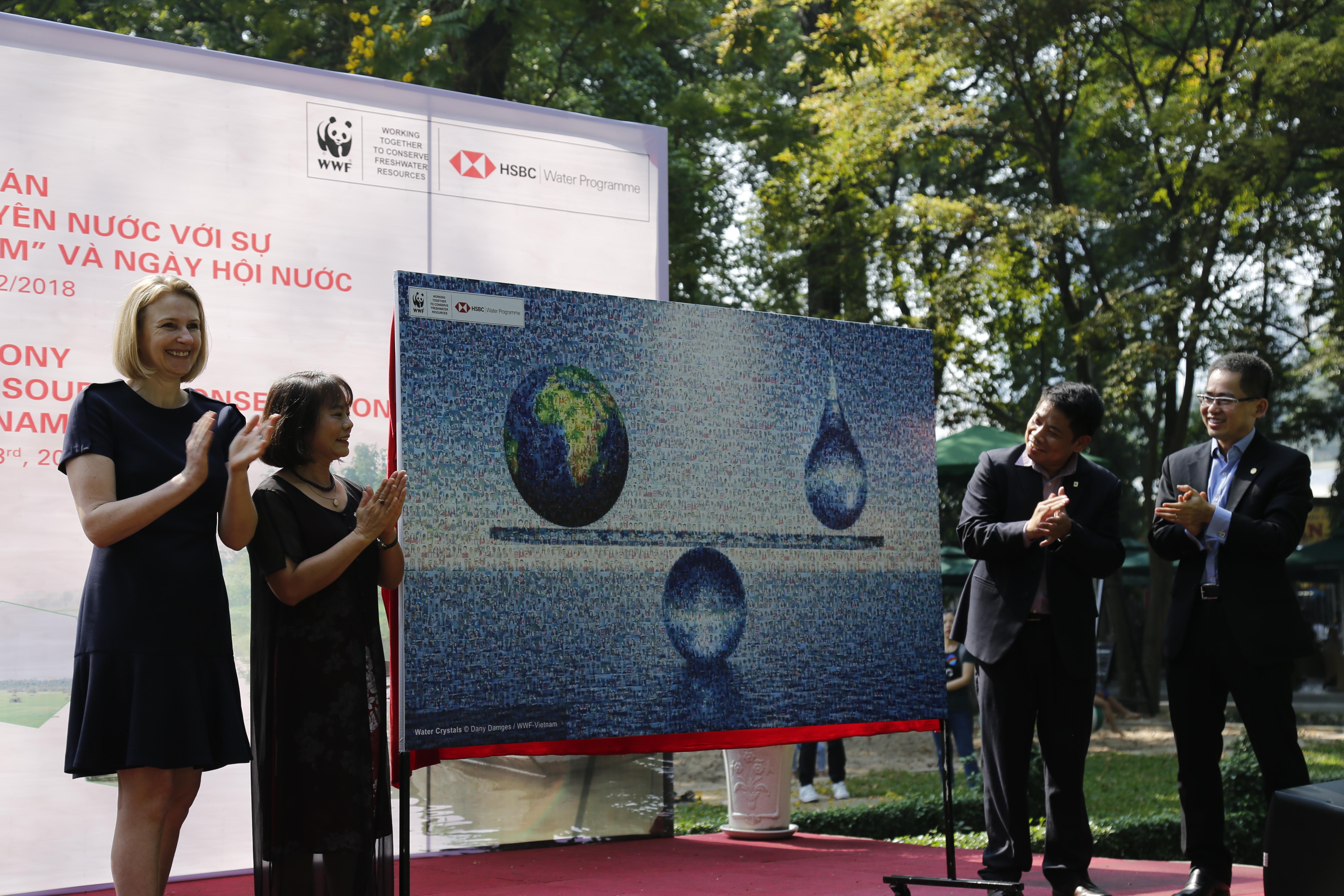 Ngân hàng HSBC Việt Nam cùng WWF bảo tồn và quản lý bền vững tài