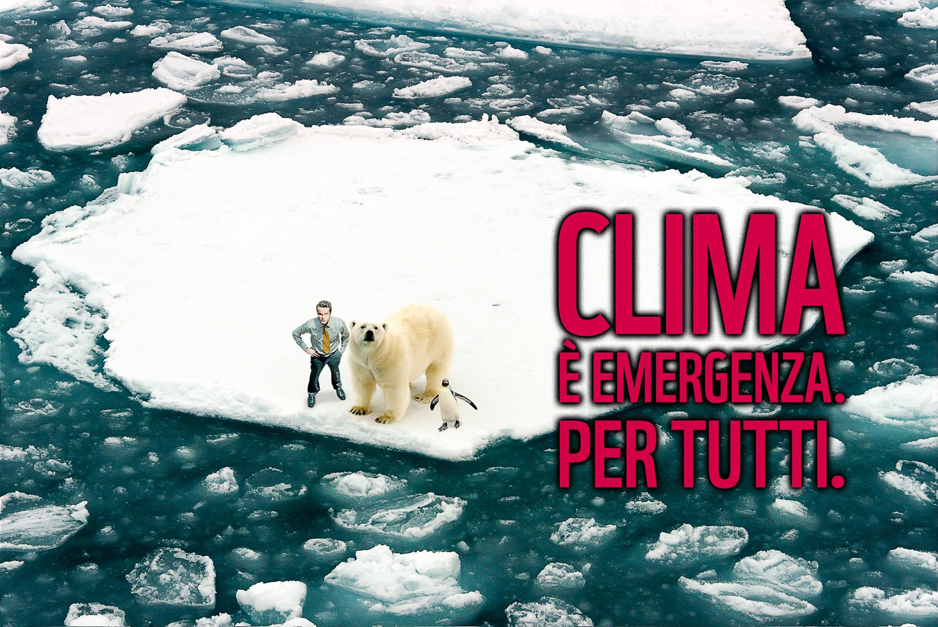 Clima è emergenza per tutti