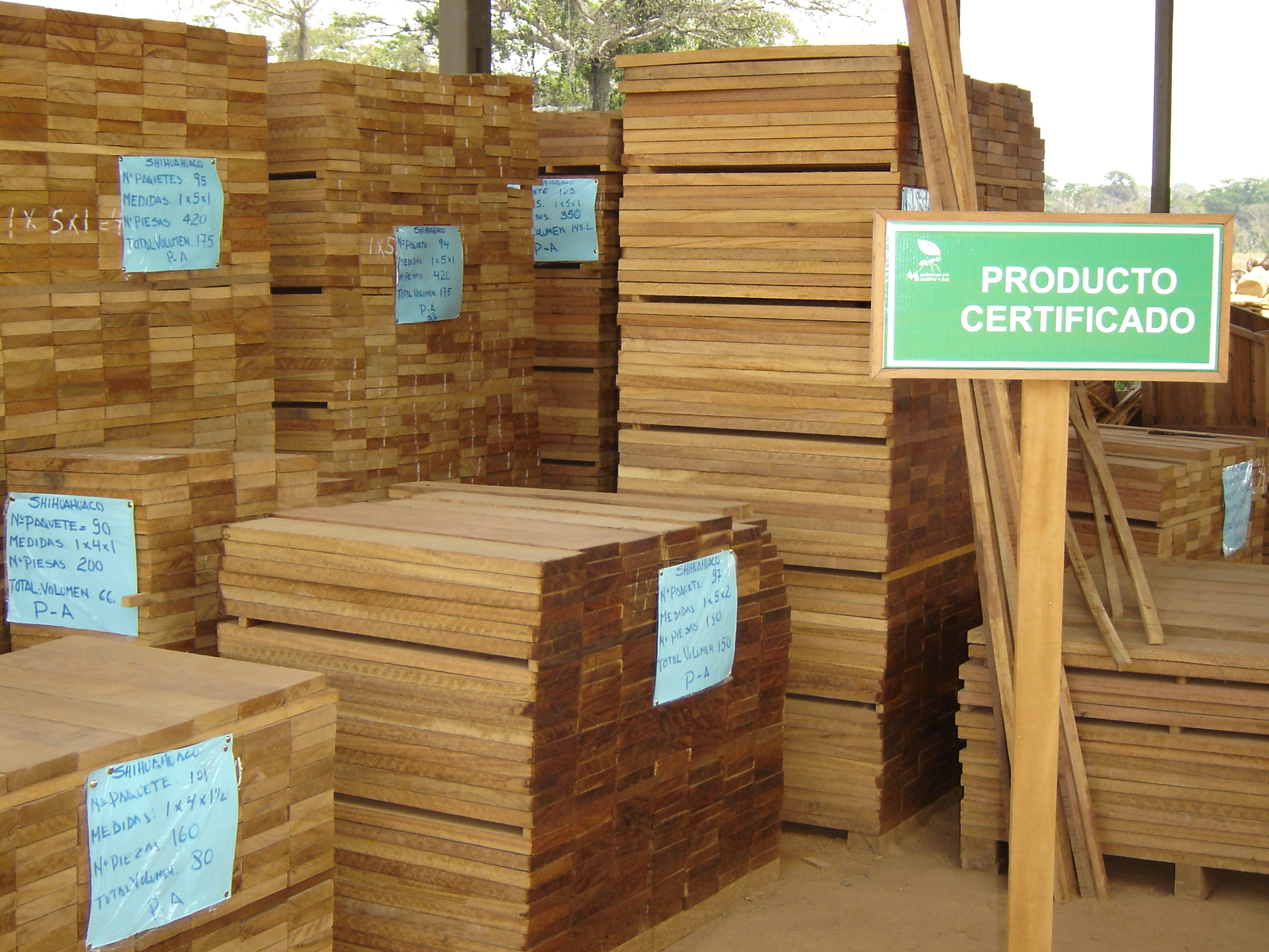 Exportaciones forestales peruanas en ascenso | WWF