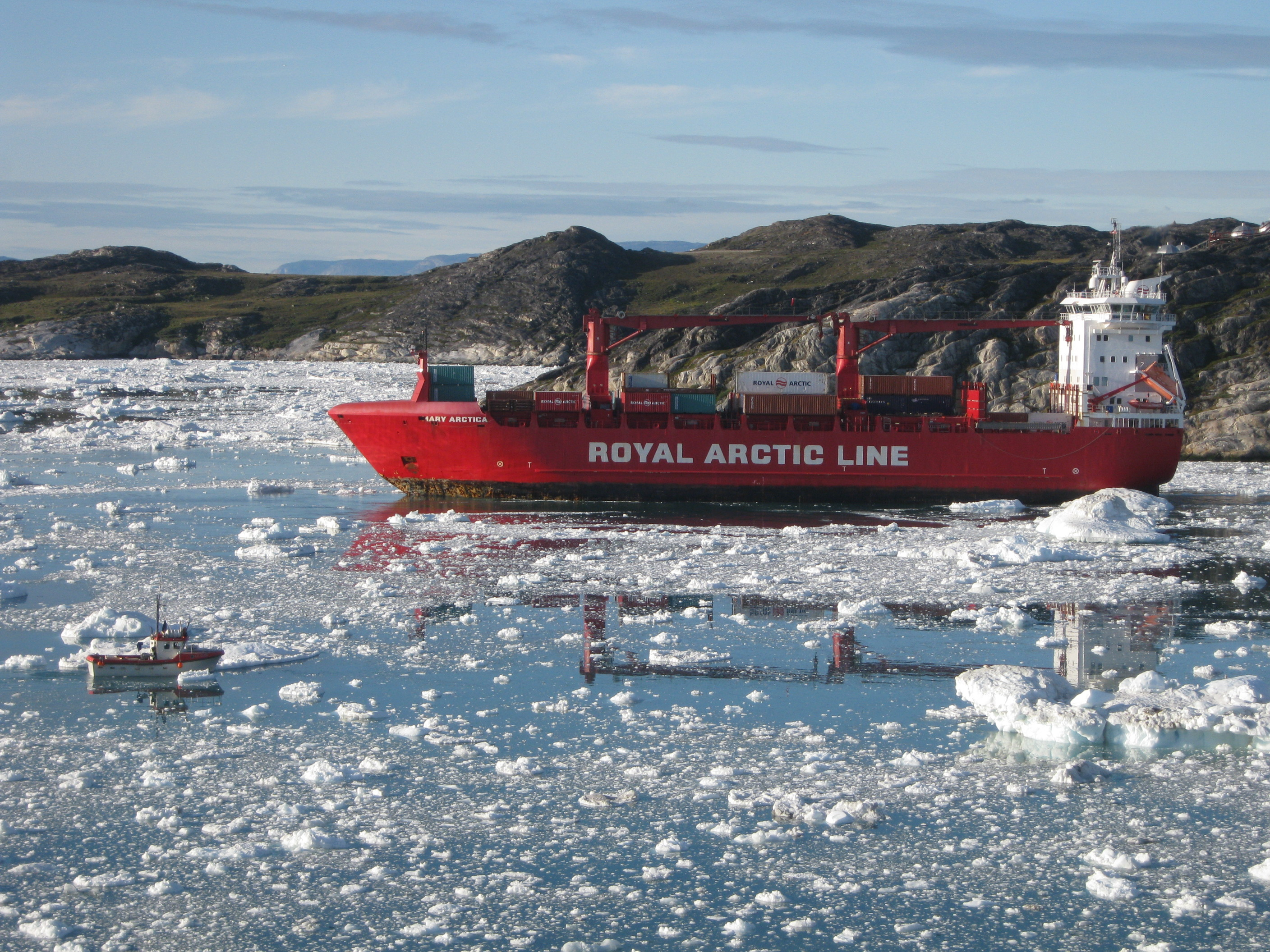 Arctic Line : Wwf study supports need to phase out use of heavy fuel oil