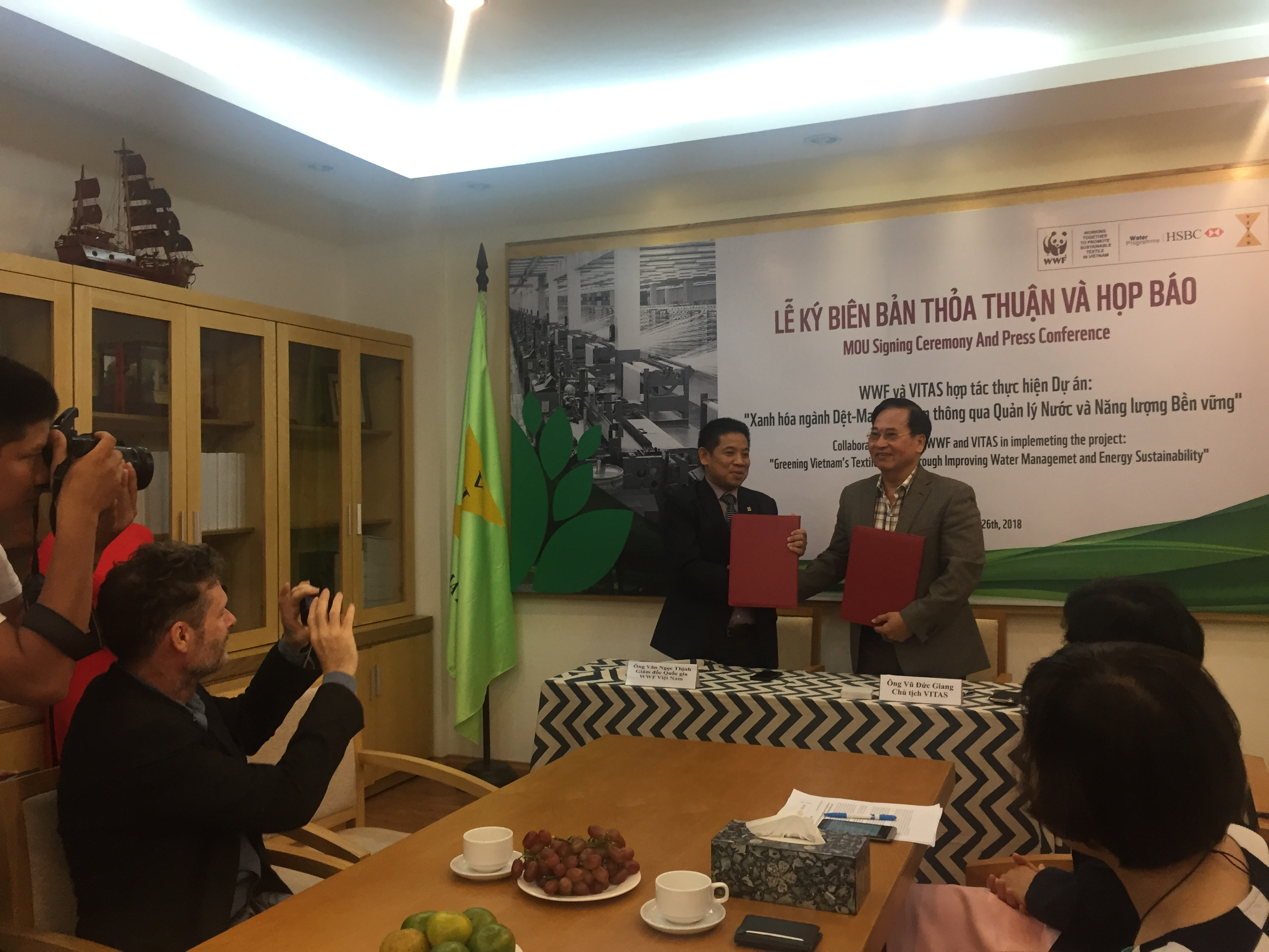WWF and VITAS aim to green Vietnam's textile and apparel sector