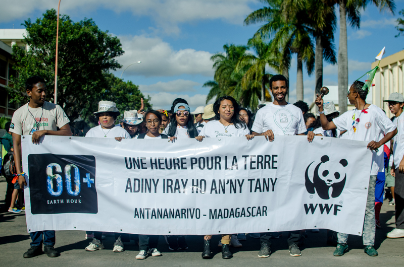 March for the Earth hour 2018