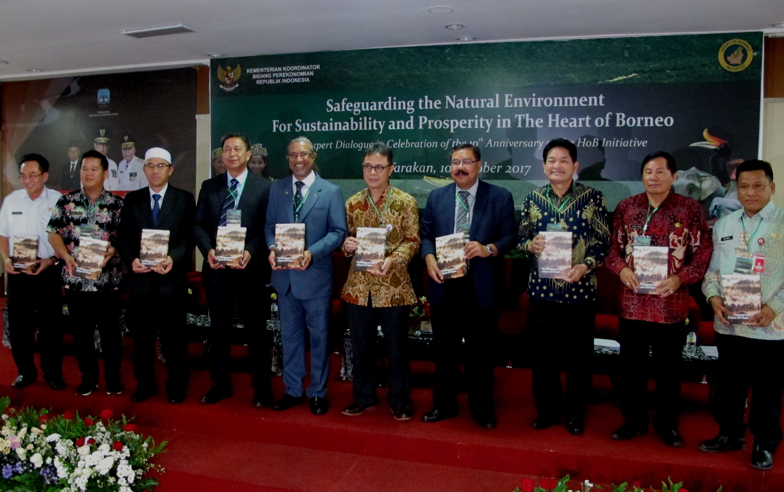 heart of borneo, hob, wwf indonesia, wwf malaysia, trilateral meeting, expert dialogue