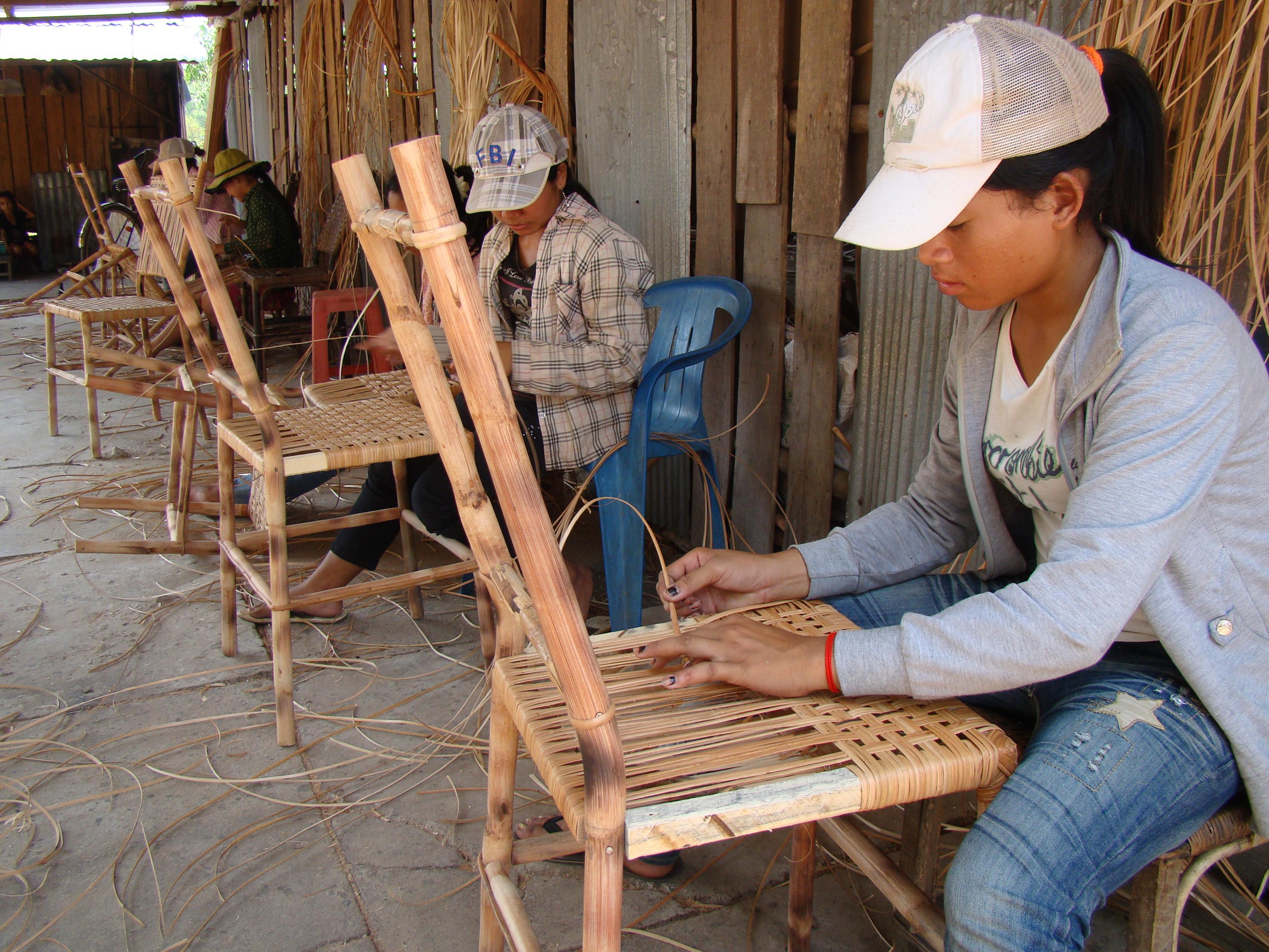 Мебель из ротанга своими руками для начинающих