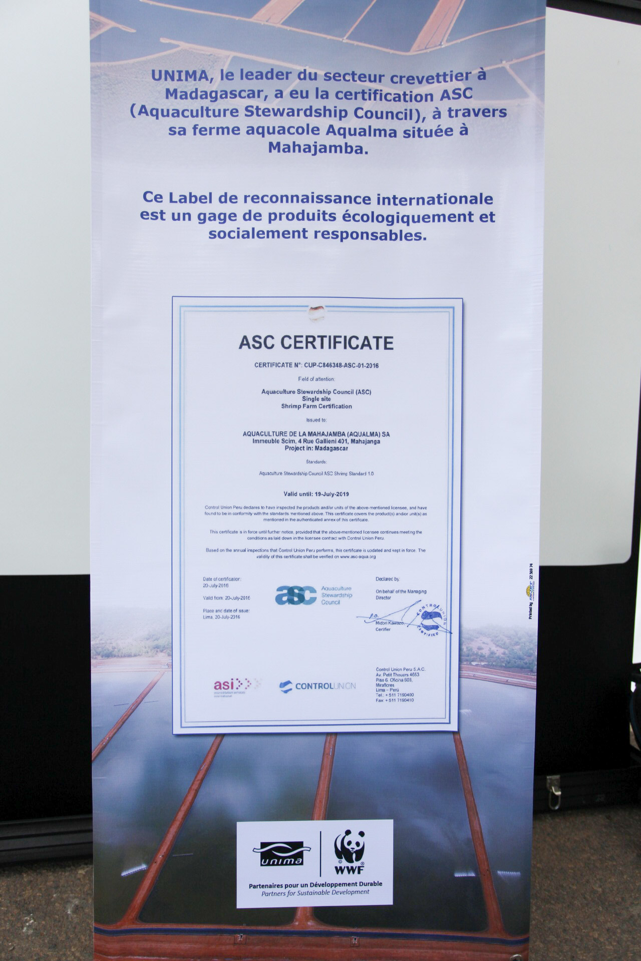 Wwf Welcomes First Asc Certified Shrimp Farm In Africa Wwf