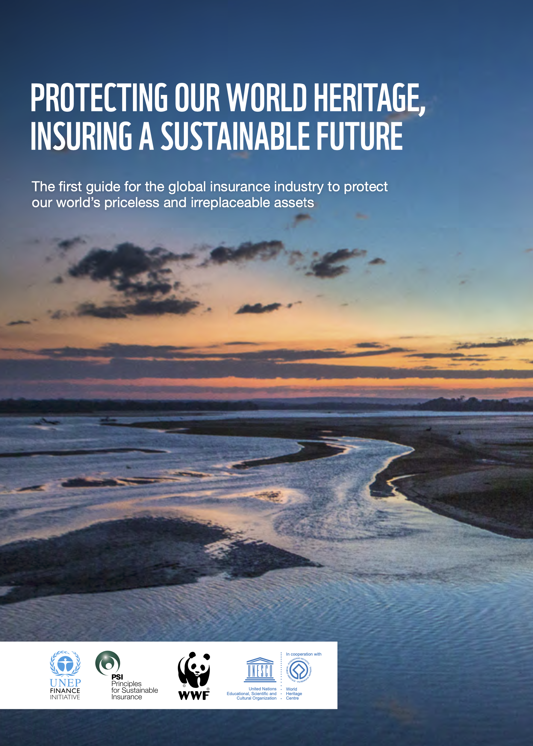 The first guide for the insurance industry to protect our world's priceless and irreplaceable assets