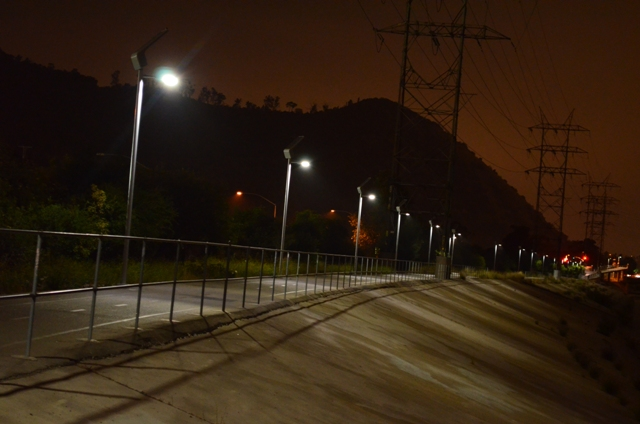 Related links. City of Los Angeles LED Street Lighting ... & Los Angeles street lights | WWF