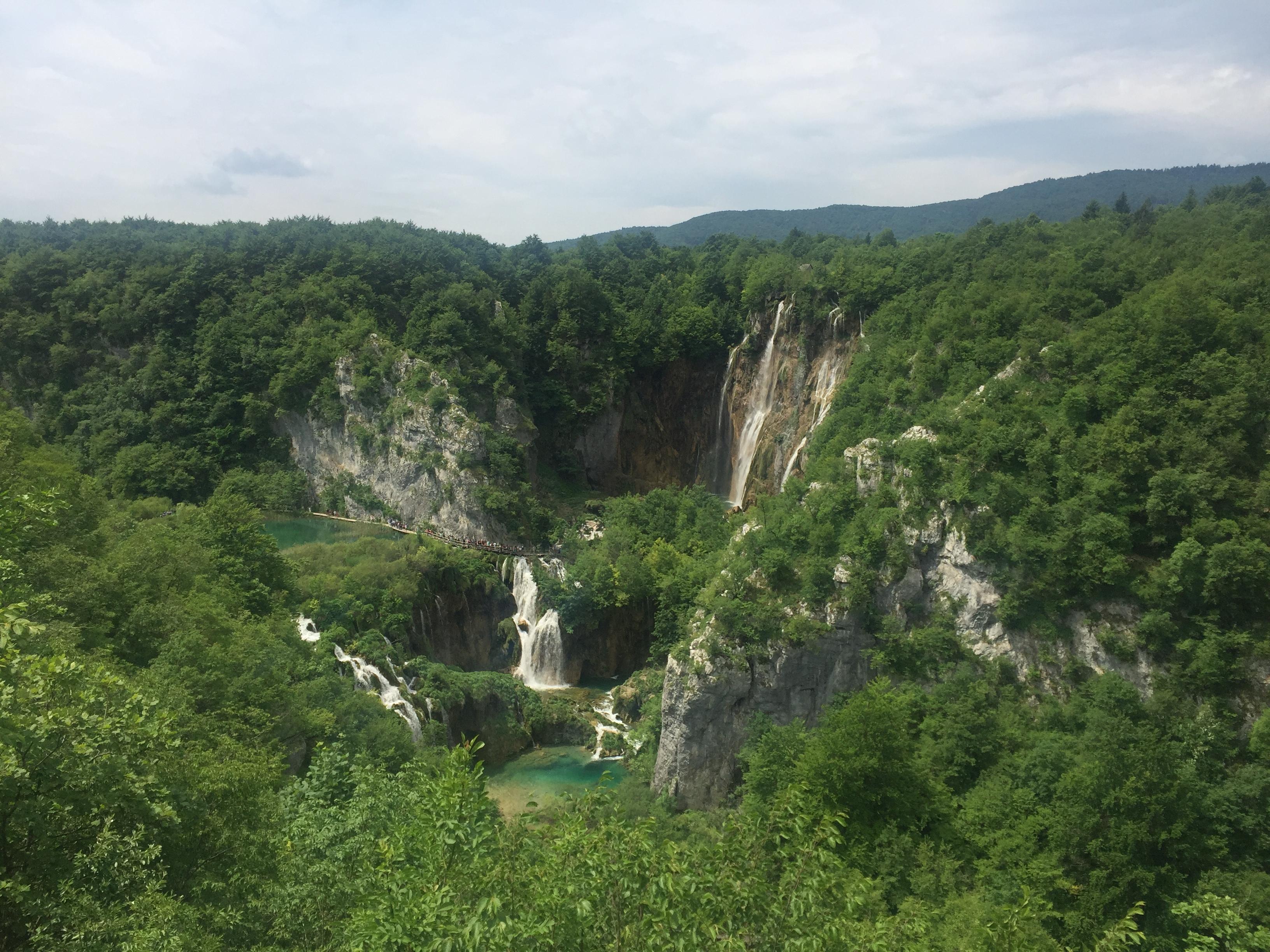 plitvice lakes national park croatia map