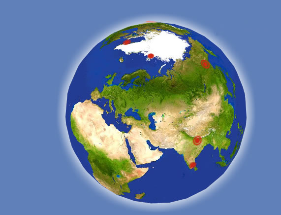 global warming globe earth