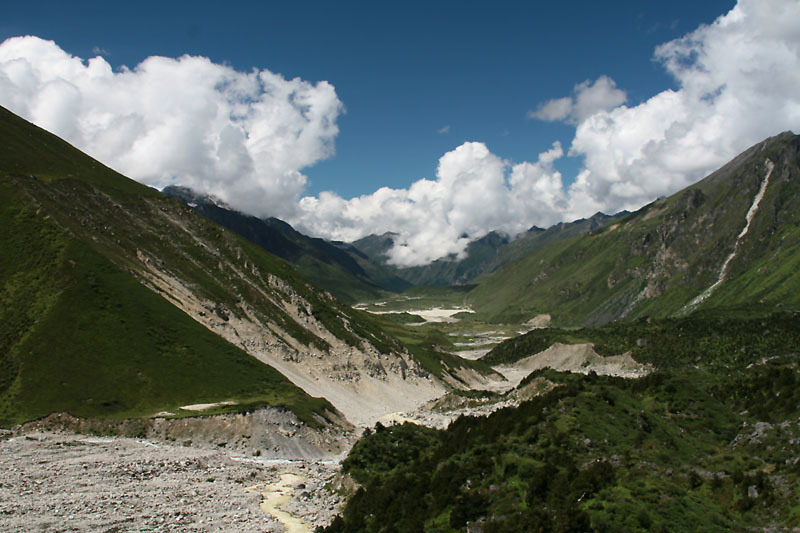 Dangerous Bhutan lake underlines costs and risks of climate change.