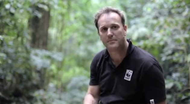 WWF Australia, Dermot O'Gorman, CEO of WWF Australia in the Heart of Borneo