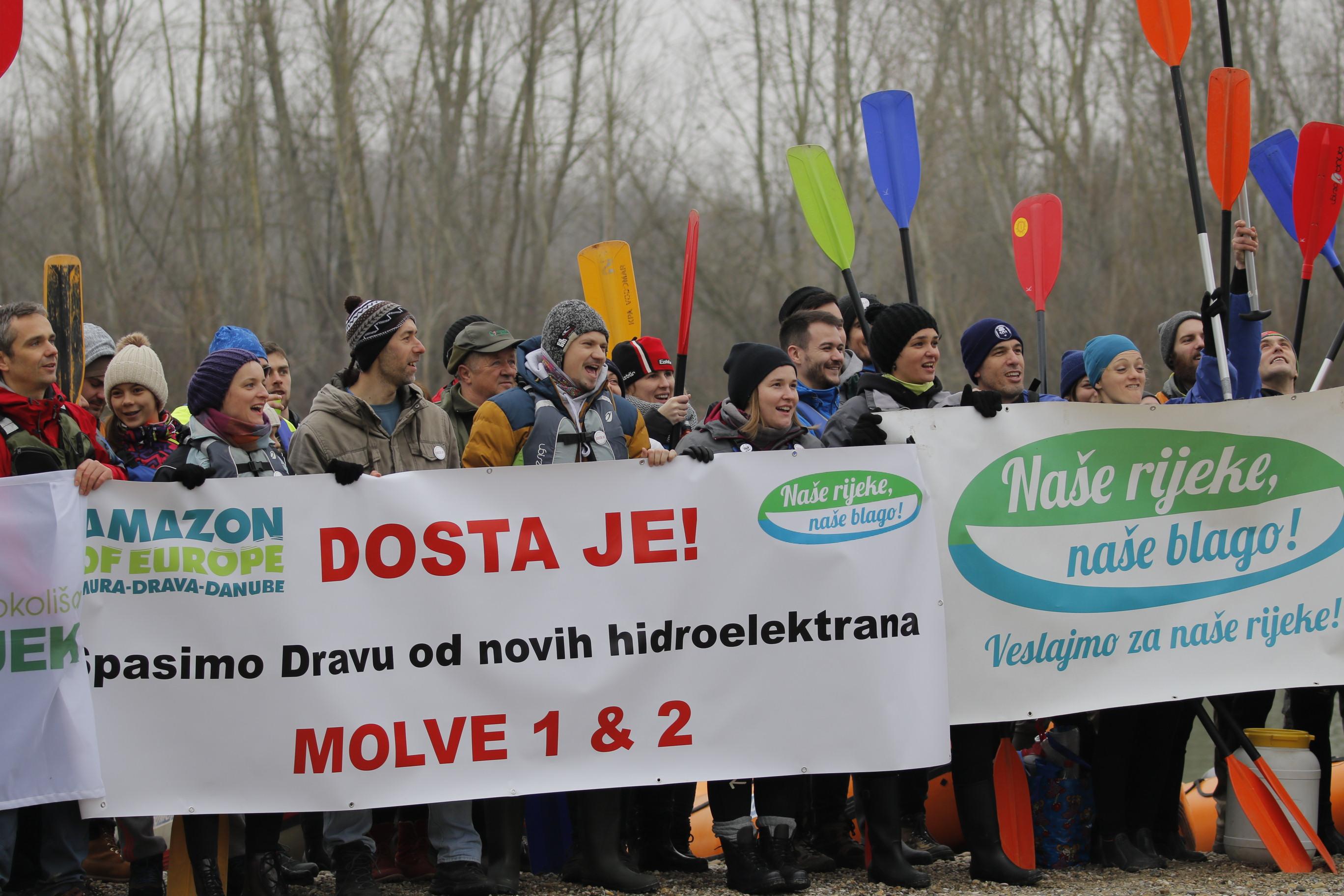Na Dravi nema mjesta za nove hidroelektrane