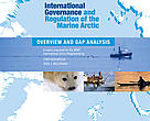 Cover of the new WWF International Arctic Programme Report, 'International Governance and Regulation of the Marine Arctic: Overview and Gap Analysis'