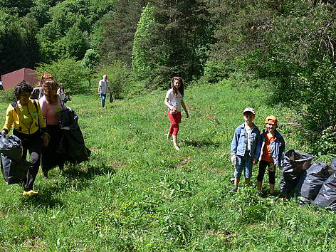 WWF's National Day of the Nature Parks, Vrachanski Balkan, Bulgaria, 23 May 2009 rel=