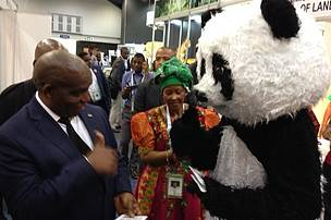 Senzeni Zokwana, Minister of Agriculture, Forestry & Fisheries, SA.