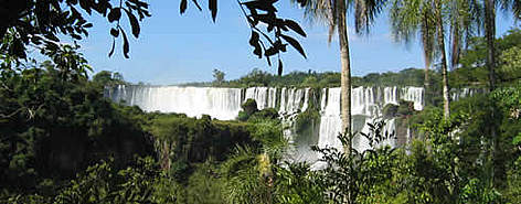 Waterfalls in the Upper Parana Atlantic Forest.  rel=