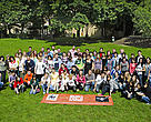 The participants in this year's European Schools for a Living Planet project.