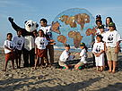 "WWF's peaceful event ""Sunset Down on Addington Beach"" in Durban.  / ©: WWF / Franko Petri"