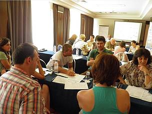 PES training for key experts from Bulgaria national institutions.