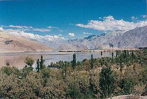 River Indus near Skardu in Pakistan.